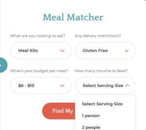 Meal-Matcher-Number-of-People