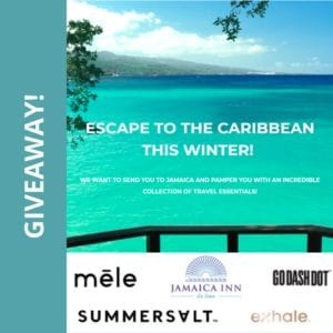 Escape to the Caribbean GIVEAWAY!